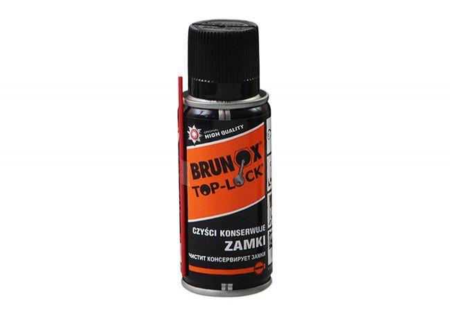 Preparat Brunox Lock Spray do konserwacji wkładek, zamków, kłódek 100ml