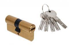 Wkładka bęb. DORMA DEC 261 30/50 mosiądz 5 kluczy(atest klasa 6.2 C)