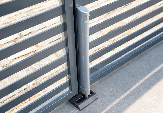 Elektryczny rygiel Locinox Electradrop, kolor aluminium