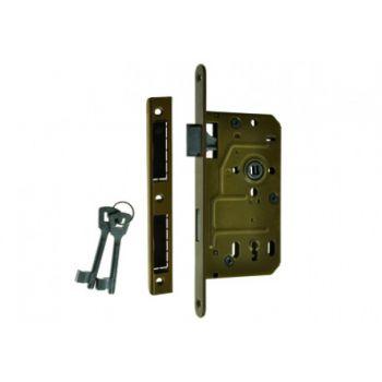 Zamek 90/50 BOX klucz lakier piaskowy uniwersalny