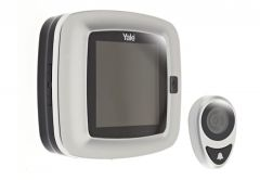 Cyfrowy wizjer drzwiowy Yale DDV-5500, ekran LCD 3,2