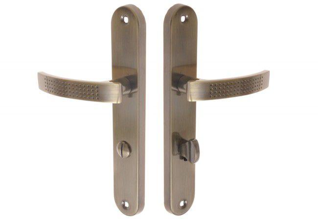 Klamka drzwiowa INFINITY AURUS 72 WC patyna
