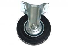 Kółko CTPW-SG 100W stałe z czarną gumą (nośność do 70 kg)