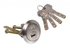 Wkładka Yale RIM, nikiel klucz nawiercany.