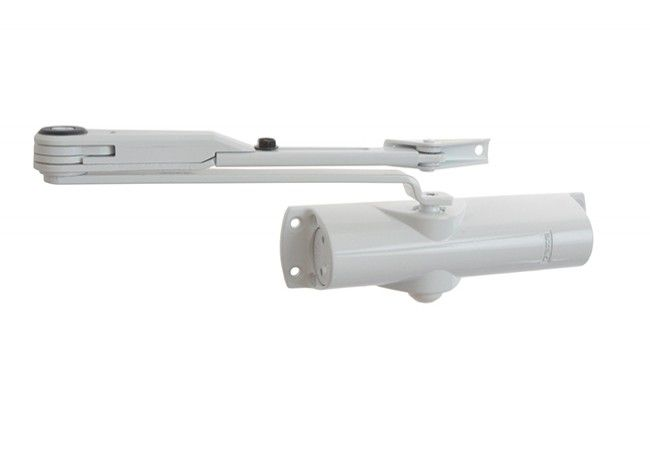 Samozamykacz GEZE TS 1000 z blokadą biały EN 2/3/4 (skrzydło do 60 kg ,max.szer.1100 mm)