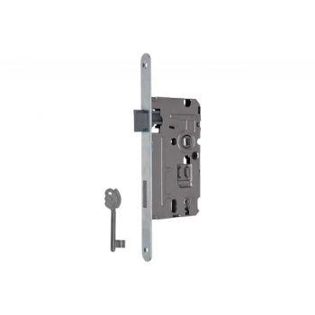Zamek 110/TW 72/55 klucz cz. 20/235 ocynk biały lewy