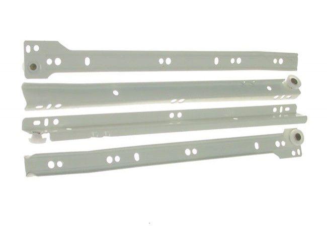 Prowadnica rolkowa PR-1011-400 biała