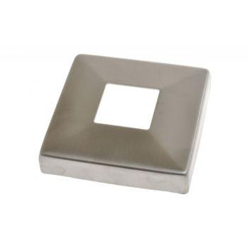 (26) Rozeta maskująca na profil AISI304,108x108/40x40 mm SP A/4511-040