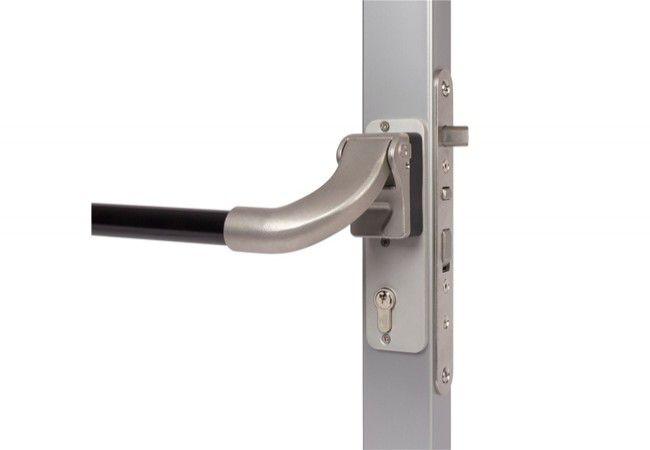 Dźwignia antypaniczna Locinox Pushbar-H do zamków wpuszczanych H-Metal, H-Wood, Sixtylock