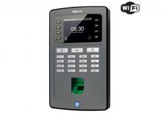 System rejestracji czasu pracy Safescan TA-8035 na odcisk palca lub kartę RFID, podłączenie LAN lub WiFi, wyjście na elektrozaczep