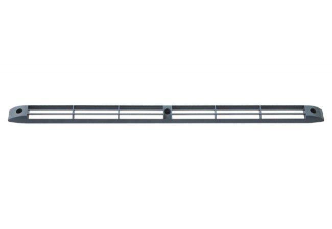 Czerpnia powietrza do nawiewnika okiennego naramowego higrosterowanego antracyt RAL 7016 BROOKVENT CE2A  400x23x12mm