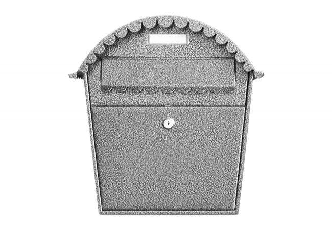 Skrzynka na listy 1s srebro antyczne