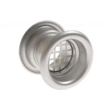 Tuleja wentylacyjna FI 40 TW chrom matowy (szt)