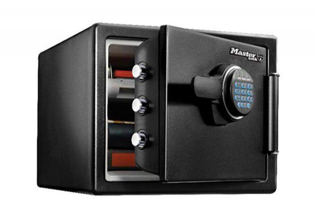 Sejf Master Lock LFW082FTC z zamkiem elektronicznym, ochrona przed ogniem i wodą, (wys. x szer. x gł.:34,8 x 41,5 x 49,1cm)