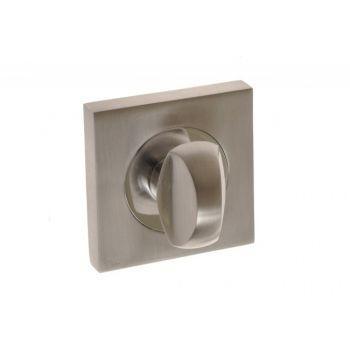 Szyld kwadratowy WC nikiel chrom (MADERA, IMPERIAL)