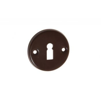 Szyld drzwiowy brązowy n/klucz