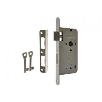Zamek ZW100 72/60 n/klucz ocynk srebrny