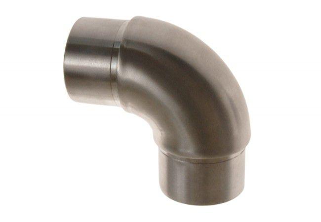 (9) Kolanko 90st. obłe wklejane na rurę D=42,4x2 mm, nierdzewne AISI304