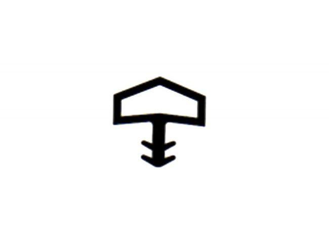 Uszczelka drzwiowa DEVENTER S-680/7292 brąz rustykalny