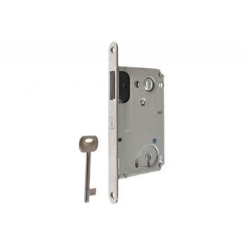 Zamek BONAITI B-TWIN wpuszczany magnetyczny 90/50 BB-klucz pol.chrom