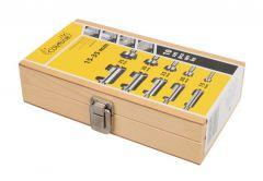 Zestaw sękarek do drewna 5 x 2 szt. (CON-XDS-Z5)