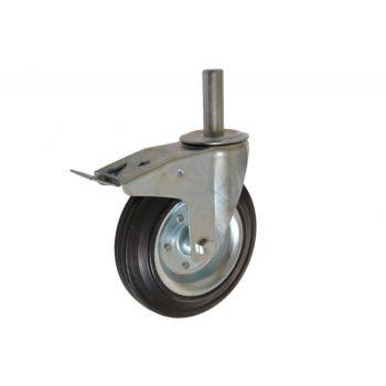 Kółko CKLS-SG 200W-HC(25) zest. kol. SKFH z hamulcem ( nośność do 230 kg ) do rusztowań