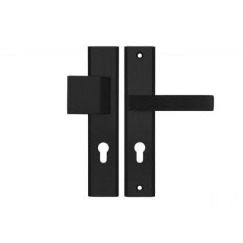 Pochwyt-klamka AXA Haga Plus 72 WB, kolor  F8 (gr.drzwi 74-83 mm)