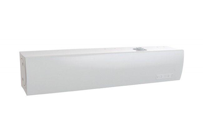 Samozamykacz GEZE TS 4000 bez ramienia biały EN 1-6 (skrzydło do 200 kg,max.szer.1400 mm)