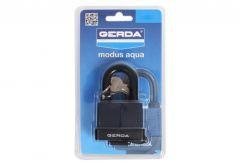 Kłódka GERDA Modus Aqua 45 mm, blister