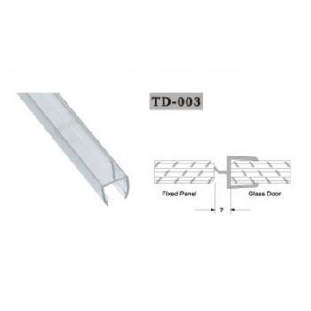 Uszczelka do kabin prysznicowych TD-003 10 mm 2,2 mb