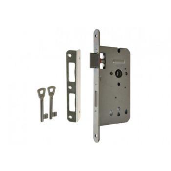 Zamek ZW100 90/50 n/klucz ocynk srebrny