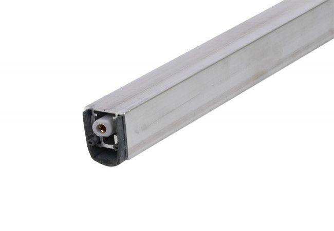 Listwa uszczelniająca progowa opadająca PLANET MF, L-460 mm ,(50dB),PCV i aluminium LI-PL-028