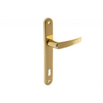 Klamka drzwiowa D1 nowe złoto 90 KL 30x215