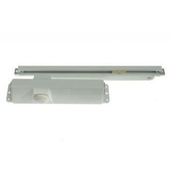 Samozamykacz TS 90 IMPULS EN3/4 z szyną ślizgową biały